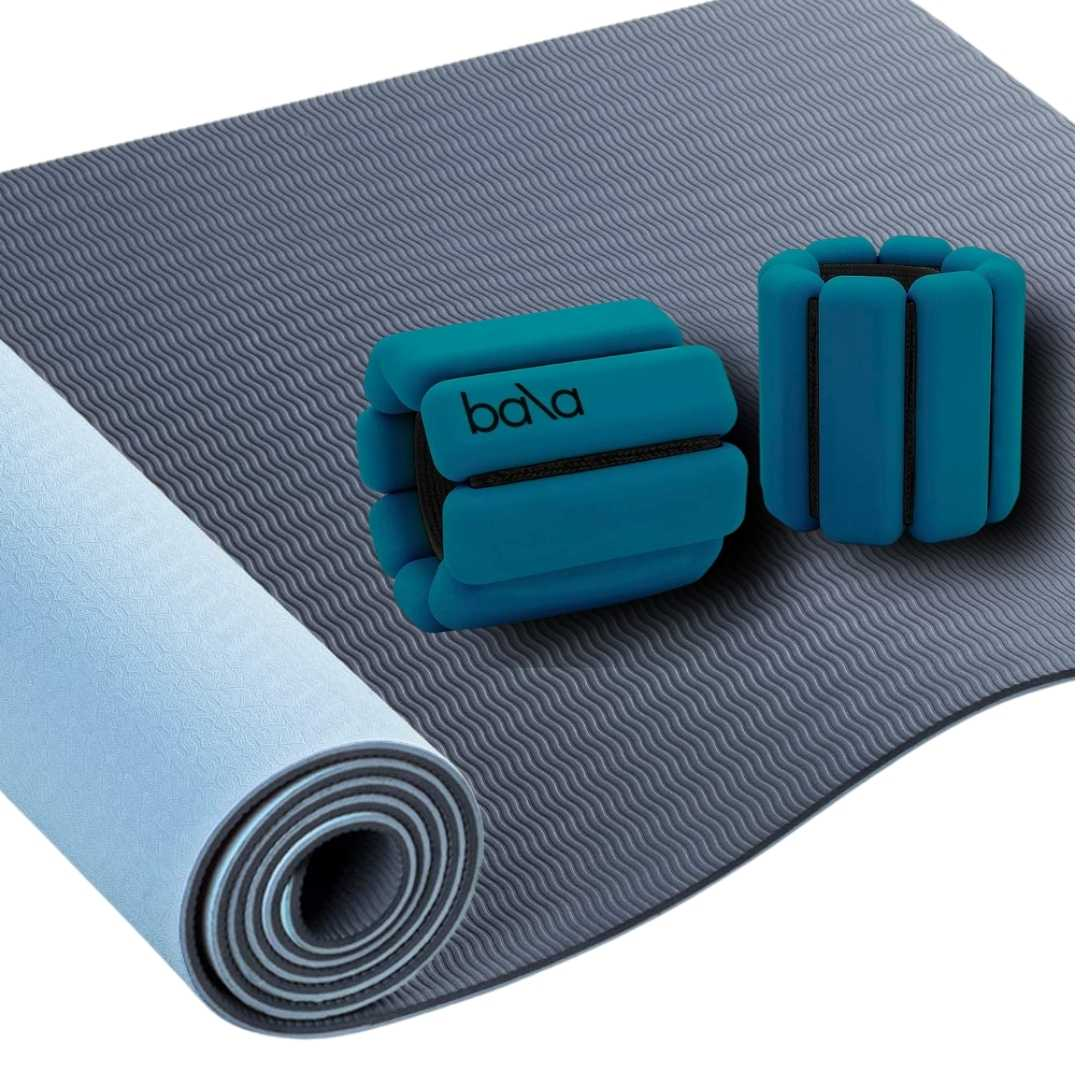 Yoga Mat + Ankle & Wrist Weights